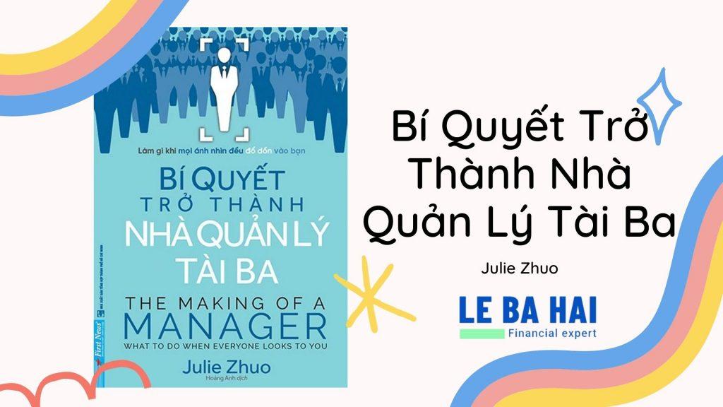 [Review & Ebook] Bí Quyết Trở Thành Nhà Quản Lý Tài Ba - Julie Zhuo